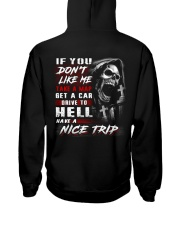 nice trip Hooded Sweatshirt back