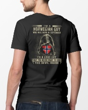 NORWEGIAN GUY - 09 Classic T-Shirt lifestyle-mens-crewneck-back-5