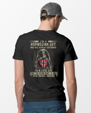 NORWEGIAN GUY - 09 Classic T-Shirt lifestyle-mens-crewneck-back-6