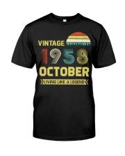 LIVING 58 10 Classic T-Shirt thumbnail