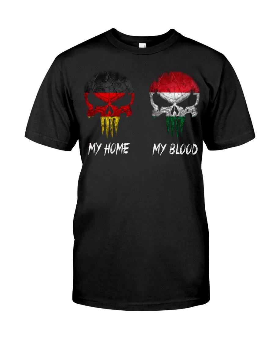 Home Germany - Blood Hungary Classic T-Shirt
