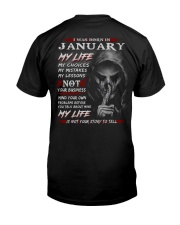 MY LIFE 1 Classic T-Shirt back