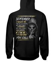 YOU CALL 9 Hooded Sweatshirt back