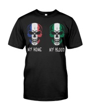 My Home France - Nigeria Classic T-Shirt front