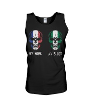 My Home France - Nigeria Unisex Tank thumbnail