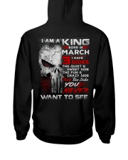 KING THREE SIDE 3 Hooded Sweatshirt back