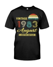 LIMITED 83 8 Classic T-Shirt thumbnail