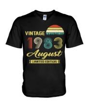 LIMITED 83 8 V-Neck T-Shirt thumbnail