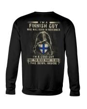 FINNISH GUY - 011 Crewneck Sweatshirt thumbnail