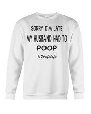 wife life Crewneck Sweatshirt thumbnail