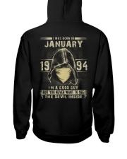 GOOD GUY 1994-1 Hooded Sweatshirt back