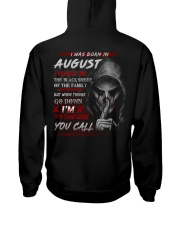 YOU CALL 8 Hooded Sweatshirt back