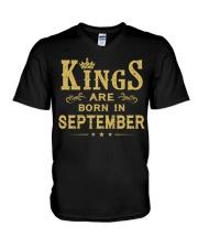 KINGS 9 V-Neck T-Shirt thumbnail