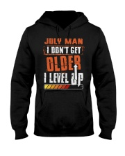 LEVEL UP 7 Hooded Sweatshirt front