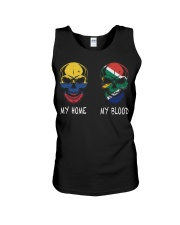My Home Colombia - South Africa Unisex Tank thumbnail