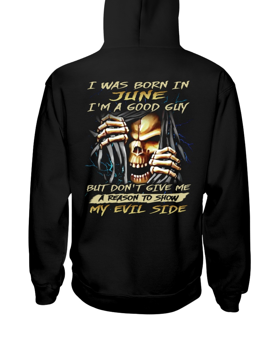 MY EVIL SIDE 06 Hooded Sweatshirt