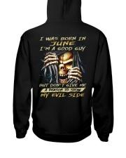 MY EVIL SIDE 06 Hooded Sweatshirt back