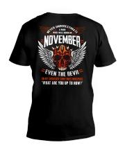 EVEN THE DEVIL 11 V-Neck T-Shirt thumbnail