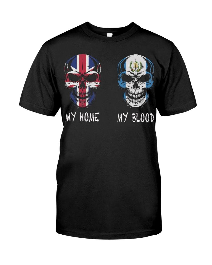 My Home United Kingdom - Guatemala Classic T-Shirt