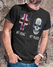 My Home United Kingdom - Guatemala Classic T-Shirt lifestyle-mens-crewneck-front-4