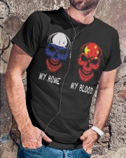 My Home Russia - China Classic T-Shirt lifestyle-mens-crewneck-front-4