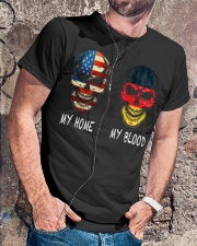 My Blood - Germany Classic T-Shirt lifestyle-mens-crewneck-front-4