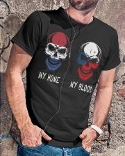 My Home Netherlands - Czech Republic Classic T-Shirt lifestyle-mens-crewneck-front-4