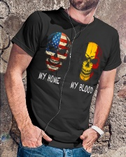 My Blood - Belgian Classic T-Shirt lifestyle-mens-crewneck-front-4