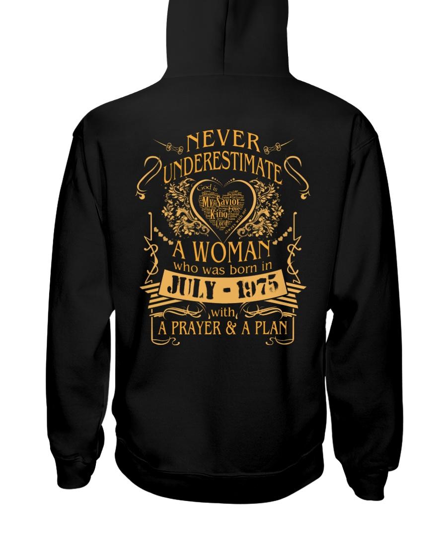 NEVER WOMAN 75-7 Hooded Sweatshirt