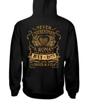 NEVER WOMAN 75-7 Hooded Sweatshirt back