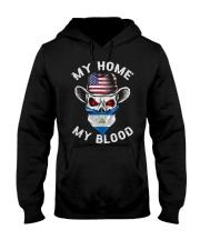 Nicaragua Hooded Sweatshirt front