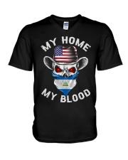 Nicaragua V-Neck T-Shirt thumbnail