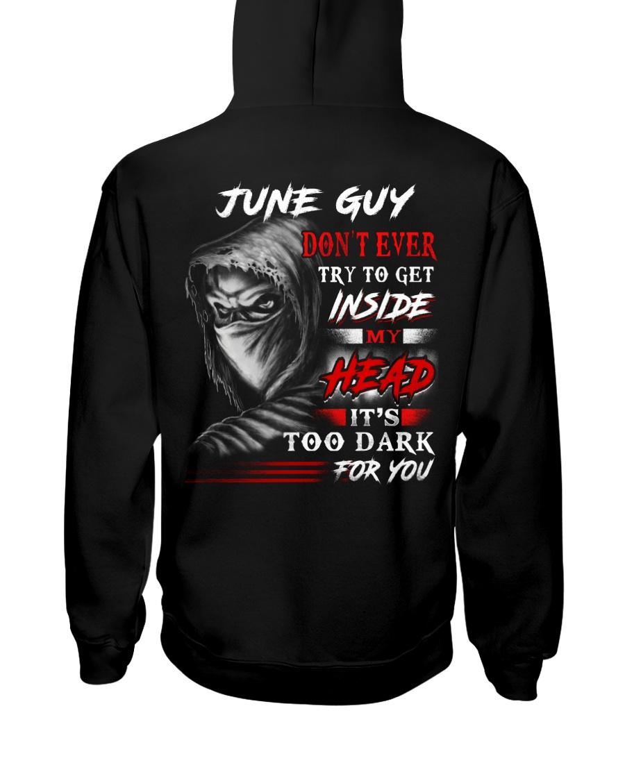Inside My head - guy-6 Hooded Sweatshirt