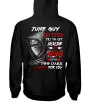 Inside My head - guy-6 Hooded Sweatshirt back