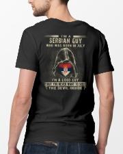 SERBIAN GUY - 07 Classic T-Shirt lifestyle-mens-crewneck-back-5