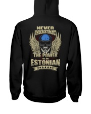 The Power - Estonian Hooded Sweatshirt back