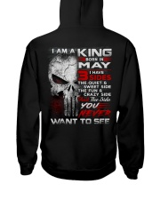 KING THREE SIDE 5 Hooded Sweatshirt back