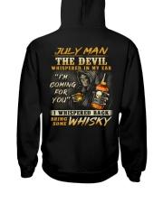 DEVIL WHISKY 7 Hooded Sweatshirt back