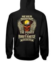The Power - Bhutanese Hooded Sweatshirt back