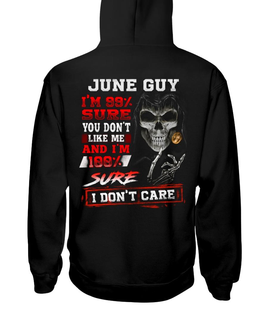 DONT CARE 6 Hooded Sweatshirt