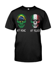 My Home Brazil - Italy Classic T-Shirt front