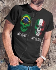 My Home Brazil - Italy Classic T-Shirt lifestyle-mens-crewneck-front-4