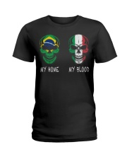My Home Brazil - Italy Ladies T-Shirt thumbnail