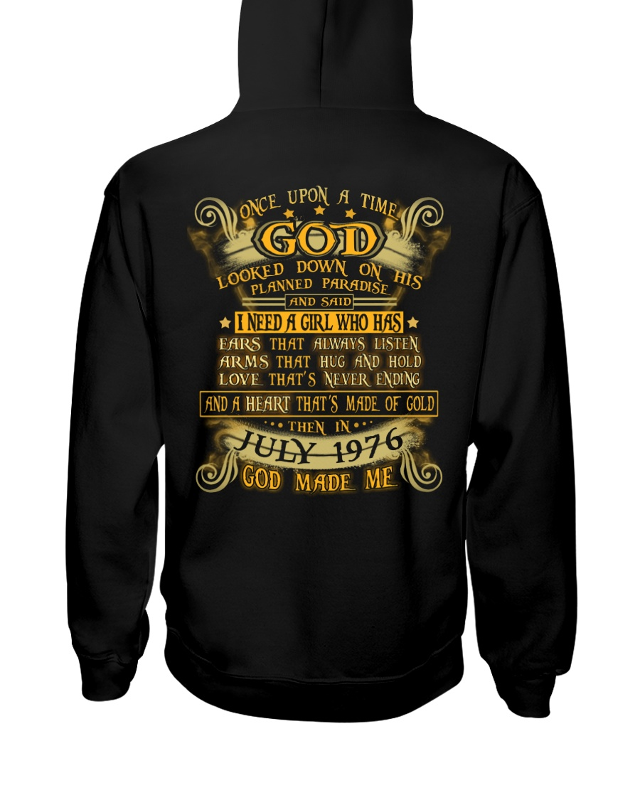 GOD 76-07 Hooded Sweatshirt