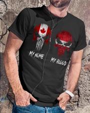 Home Canada - Blood Latvia Classic T-Shirt lifestyle-mens-crewneck-front-4