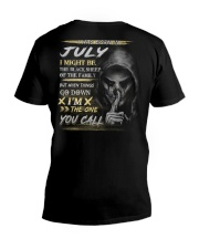 YOU CALL 7 V-Neck T-Shirt thumbnail