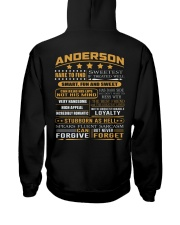 Anderson Hooded Sweatshirt back