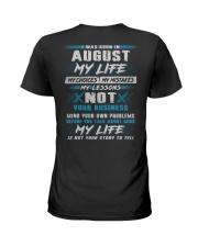 MY LIFE TEXT 8 Ladies T-Shirt thumbnail
