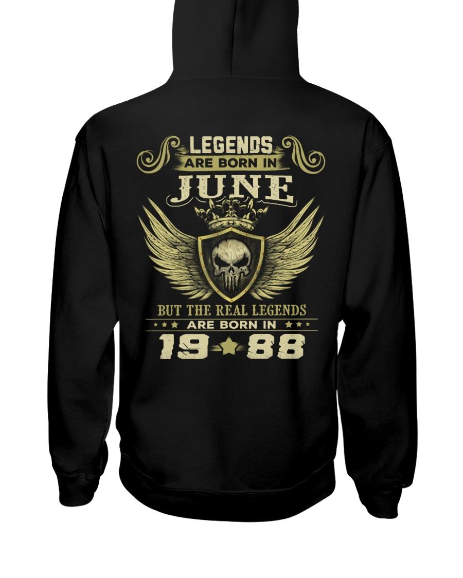 LEGENDS 88 6 Hooded Sweatshirt