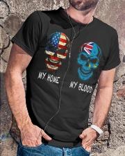 My Blood - Tuvalu Classic T-Shirt lifestyle-mens-crewneck-front-4